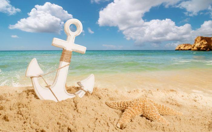 Anchor_On_The_Beach_2560x1600